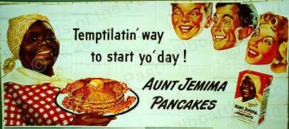 Billboards Of The Past 187 Quaker Oats Aunt Jemima Pancakes